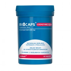 Bicaps Coenzyme Q10 - Koenzym Q10 60 porcji