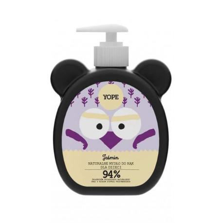 Yope naturalne mydło do rąk dla dzieci Jaśmin 400 ml