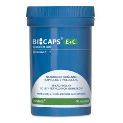 Bicaps E+C - Witamina E + Witamina C 60 kapsułek