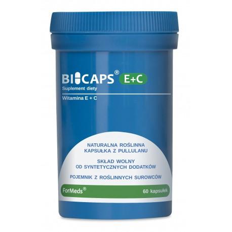 Bicaps E+C - Witamina E+C 60 kapsułek
