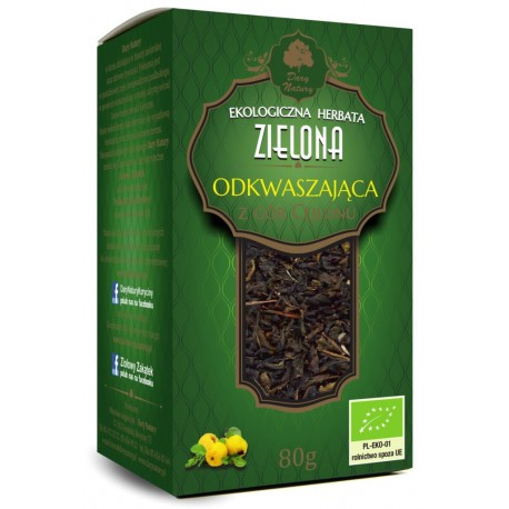 Herbata Zielona Odkwaszająca EKO 80g