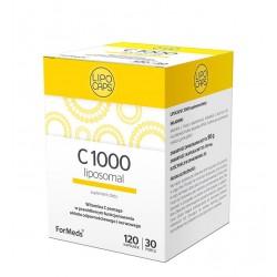 Lipocaps C 1000 liposomal - Witamina C liposomalna 120 kapsułek
