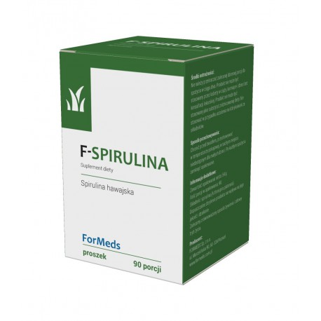 F-Spirulina 90 porcji Spirulina Hawajska
