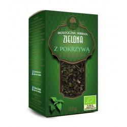 Ekologiczna Herbata Zielona z Pokrzywą 80g
