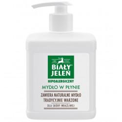 Biały Jeleń - Mydło szare w płynie z pompką 500 ml