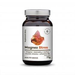 Magnez Stres + melisa + szyszki chmielu + B6 tabletki 77g