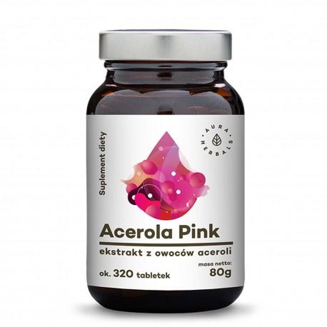 Acerola Pink ekstrakt z owoców aceroli ok 320 tabletek