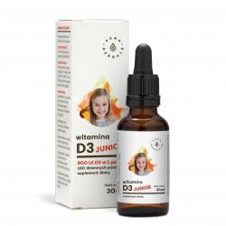 Witamina D3 Junior (800IU) - w kroplach dla dzieci 30 ml