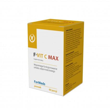 F-vit C max Witamina C + D3 + Cynk 60 porcji