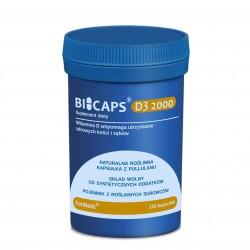 Bicaps D3 2000 50 µg / 2 000 IU 120 porcji