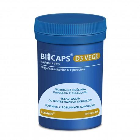 Bicaps D3 Vege 60 kaps